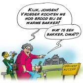 Koopzondag cartoon